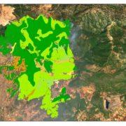 Copernicus: Ο χάρτης της καταστροφής στην Εύβοια – Οι χρήσεις γης
